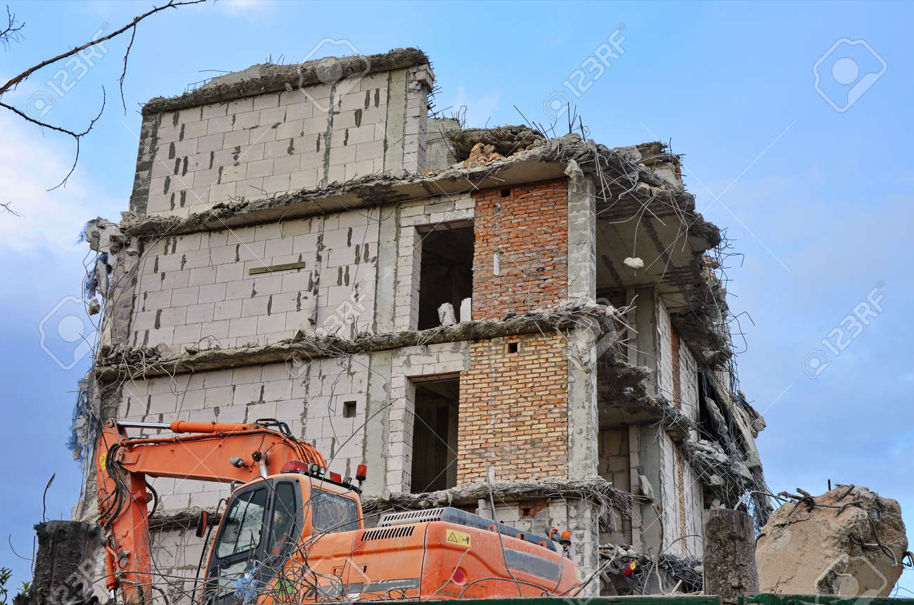 The elements and the person are capable of catastrophic destructions visually the indication on this example - 167196098