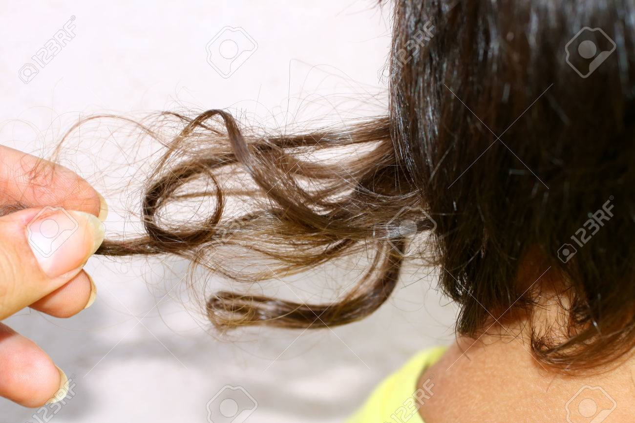 A Long Lock Of Hair In The Child Opshernish The First Haircut