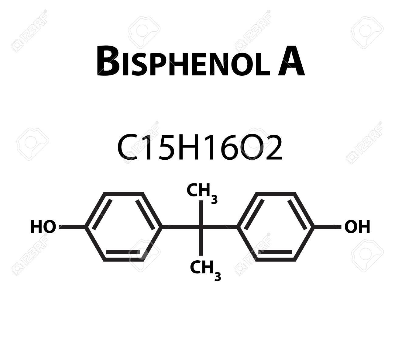 97588887-bisphenol-a-chemical-formula-in