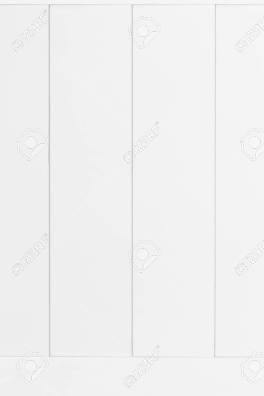 White Wood Door Background Vintage Wooden Plank Texture Stock