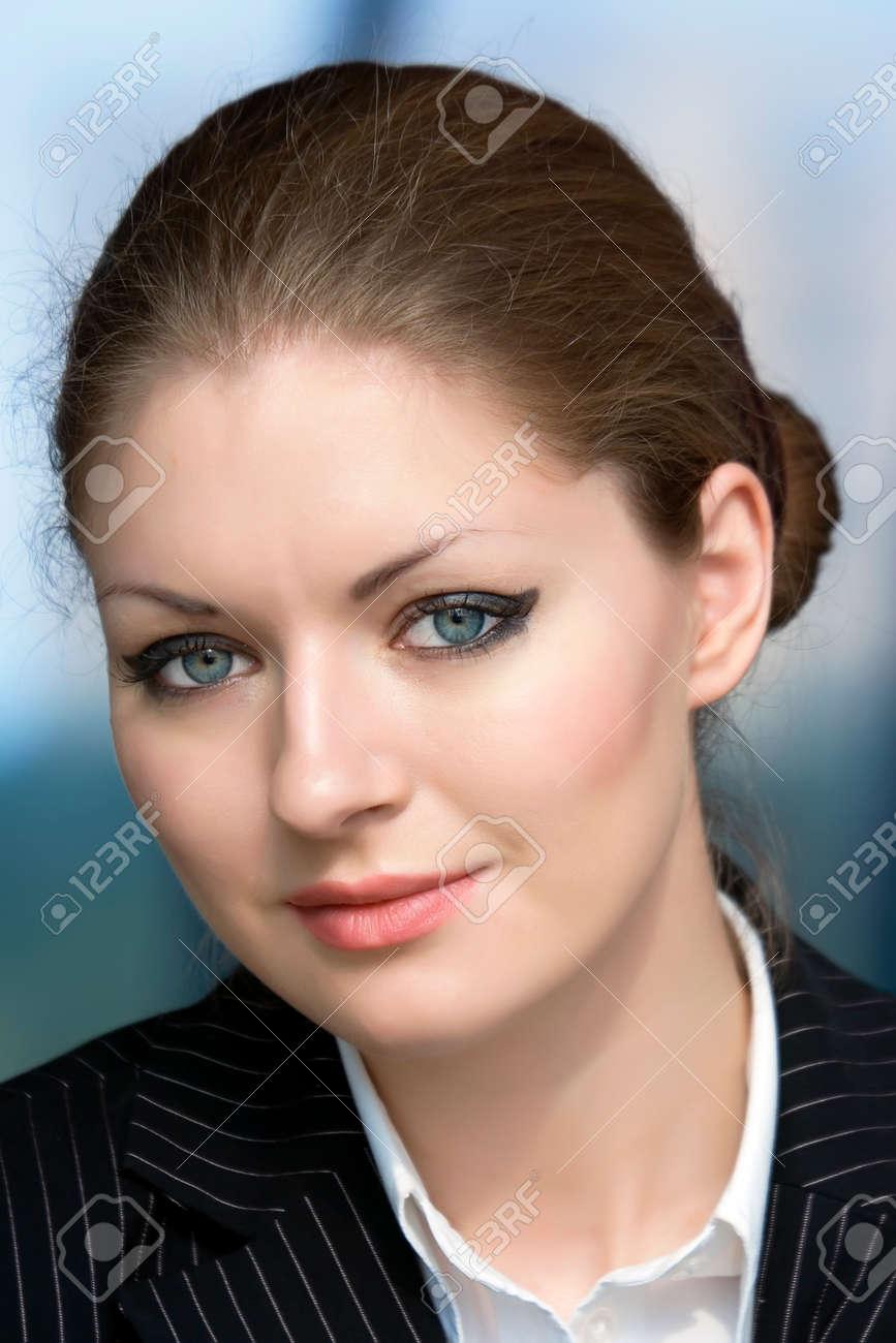 Portrait young businesswoman Stock Photo - 1566802