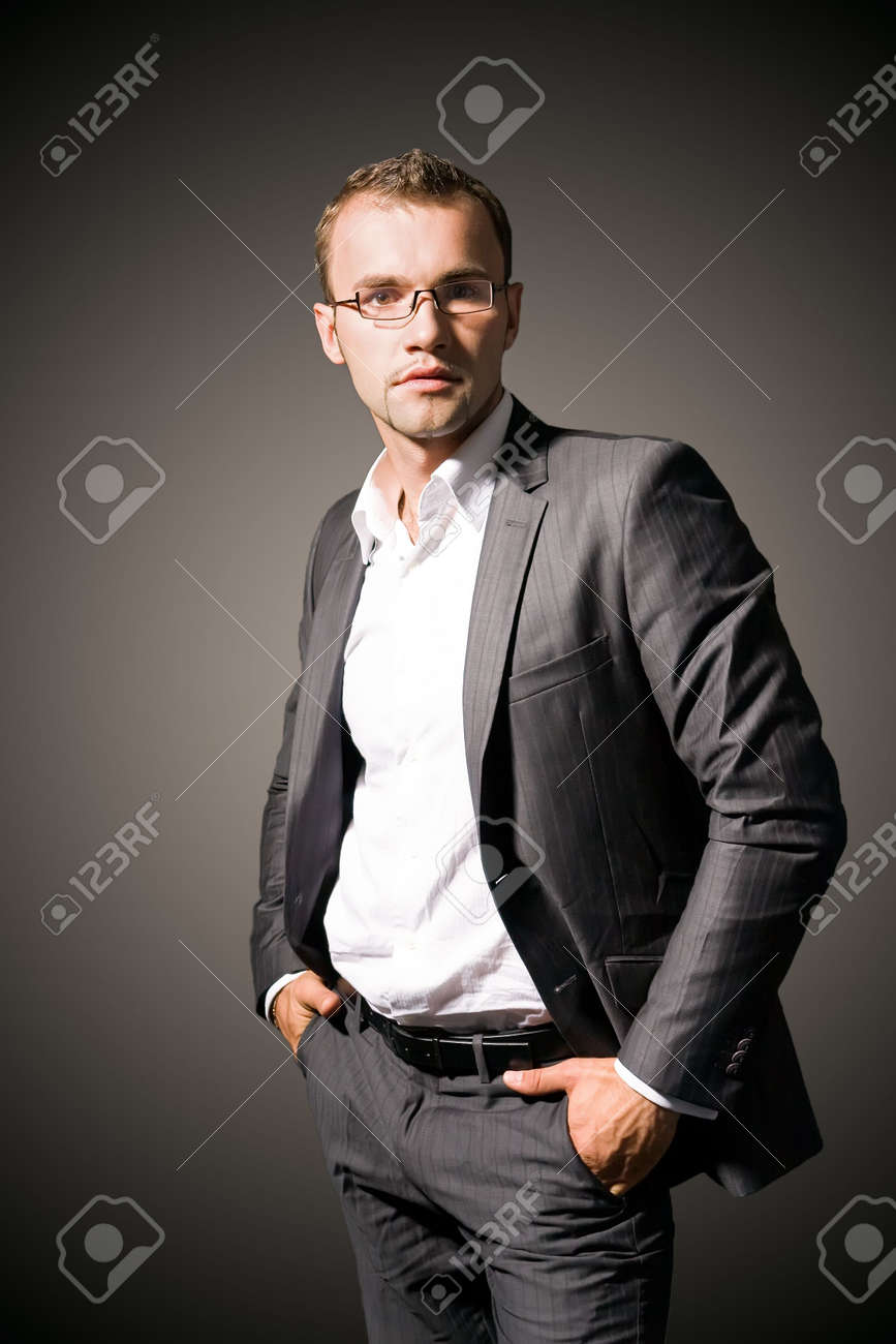Portrait of a young businessman Stock Photo - 3526512
