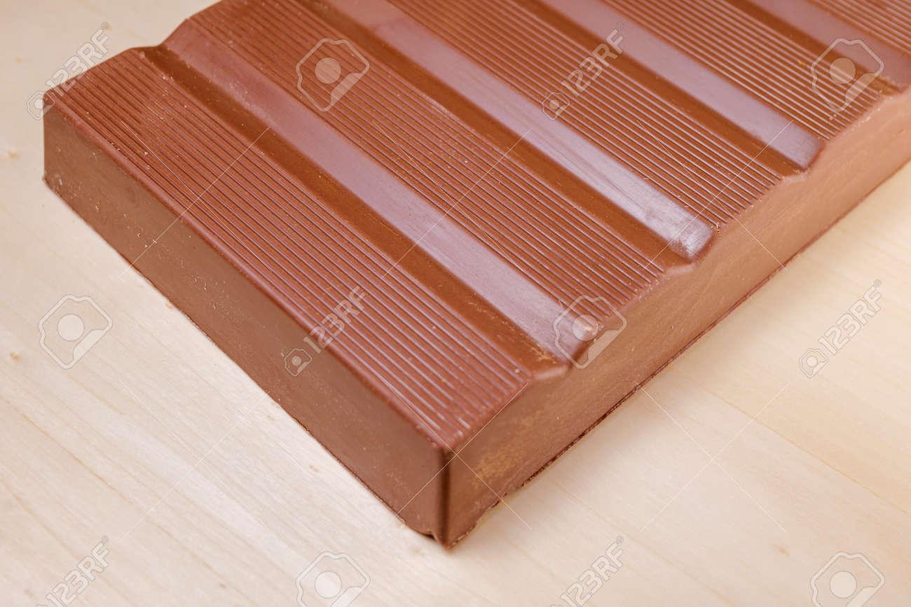 milk chocolate bar close-up. sweet food - 170497064