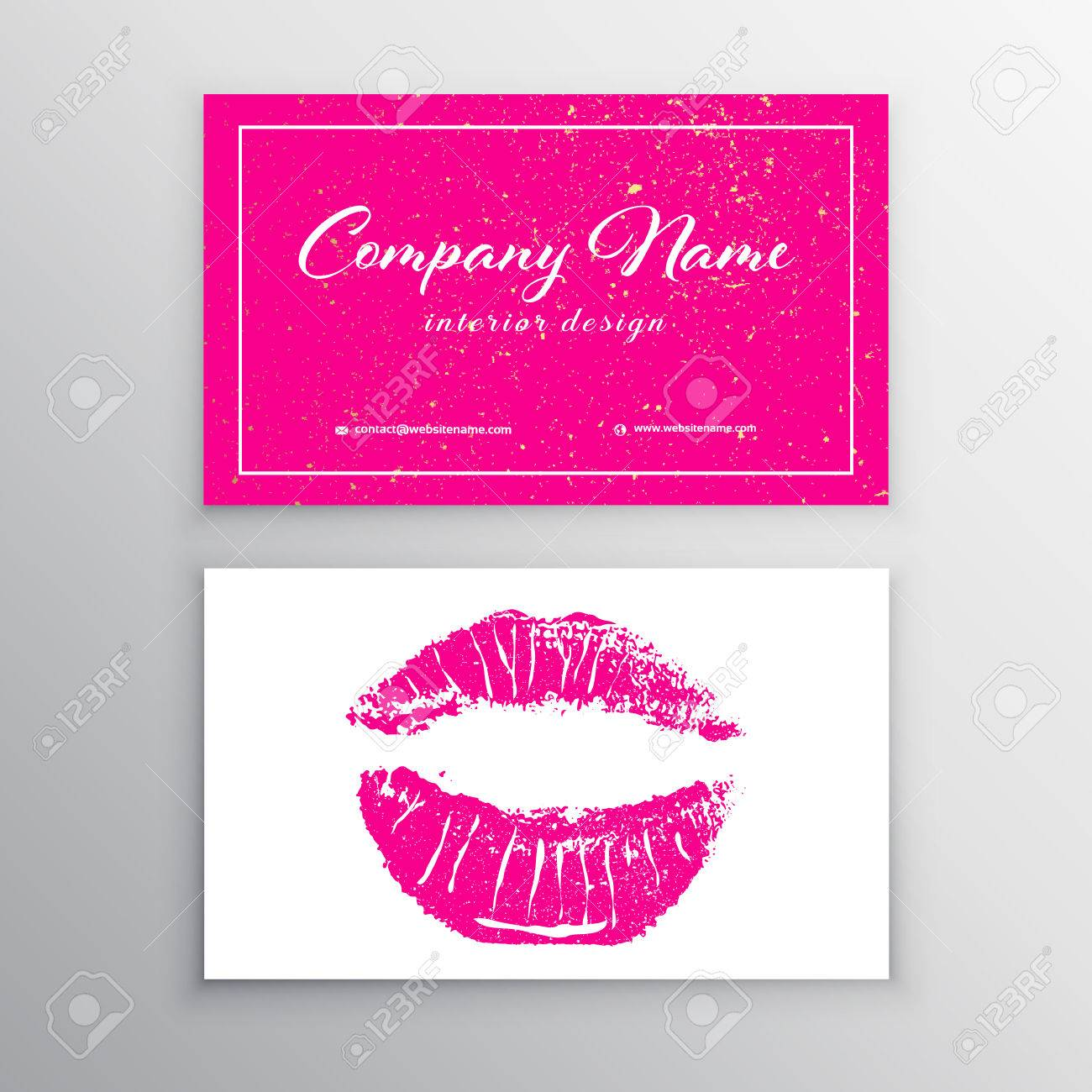 Makeup artist business card business cards template with pink makeup artist business card business cards template with pink lips print design templates for cheaphphosting