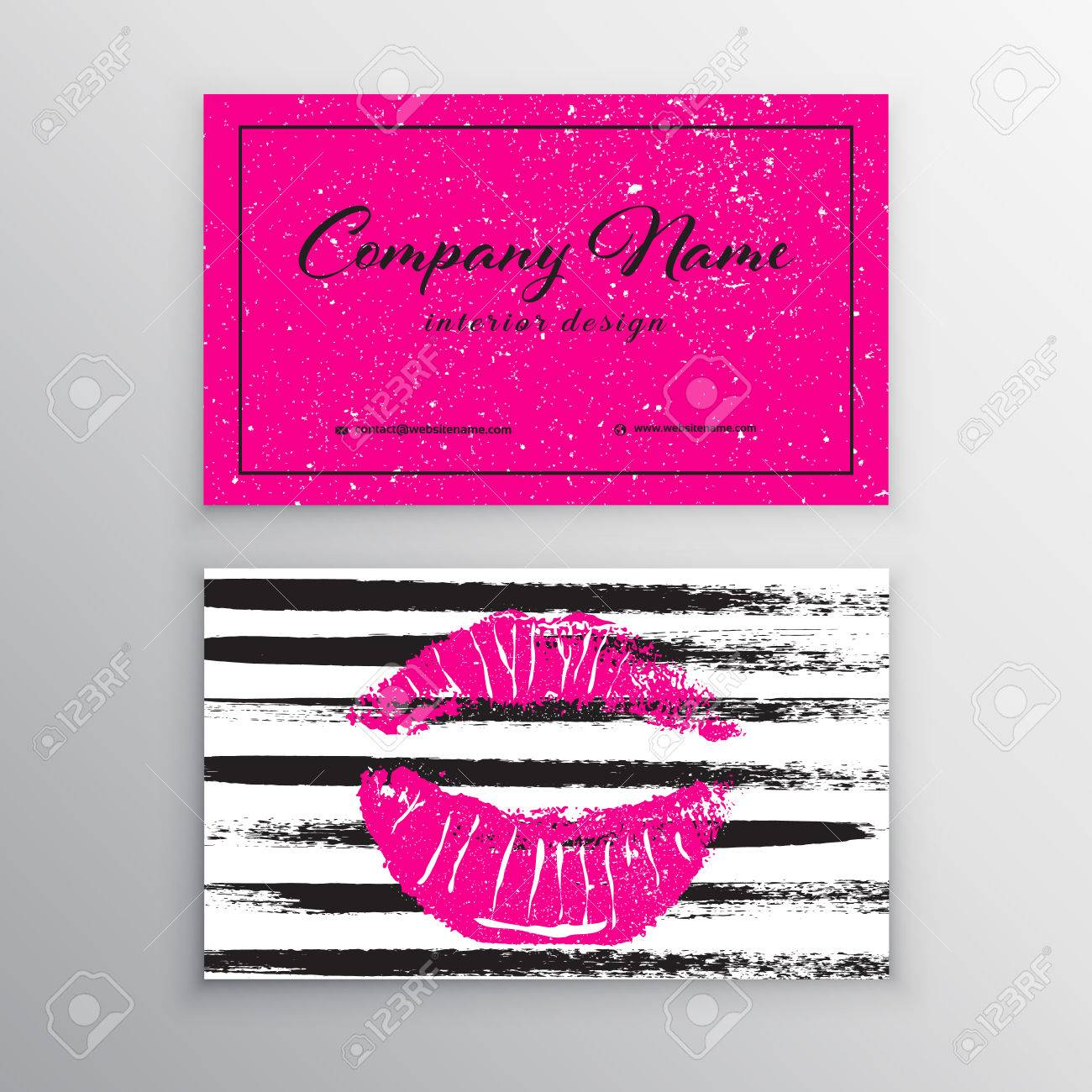 Makeup artist business card business cards template with pink makeup artist business card business cards template with pink lips print design templates for cheaphphosting Image collections
