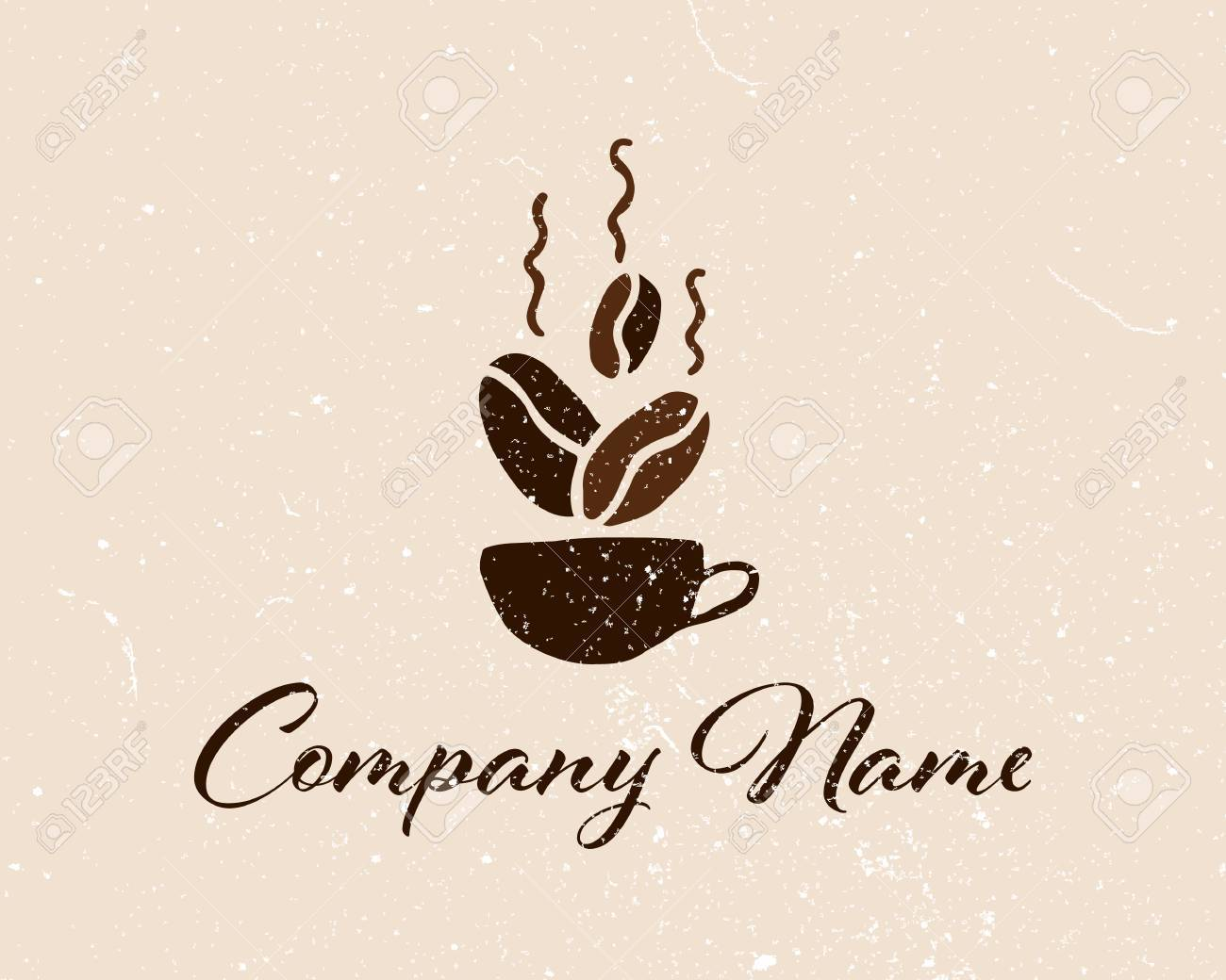 Coffee Shop Logo Template Natural Abstract Coffee Cup Coffee Royalty Free Cliparts Vectors And Stock Illustration Image 78081240