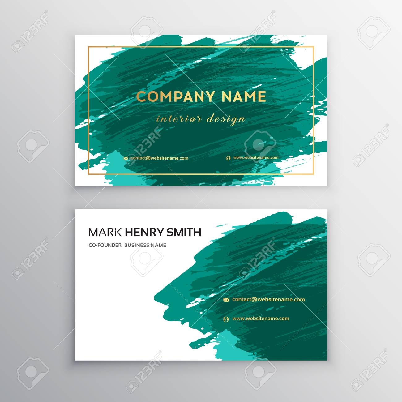 vector business card luxury business card design vector modern