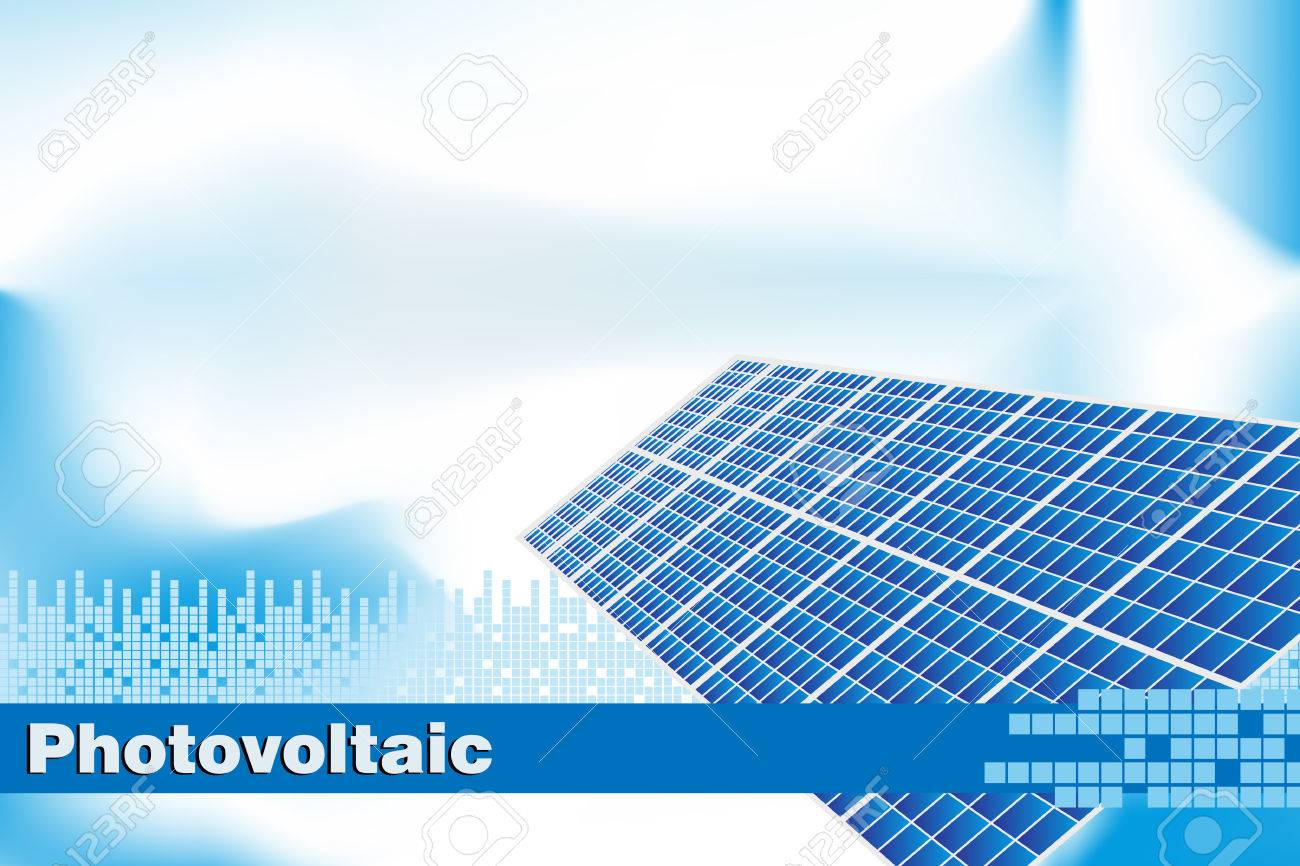 Solar power renewable energy brochure cover or business card solar power renewable energy brochure cover or business card stock vector 4822362 reheart Image collections