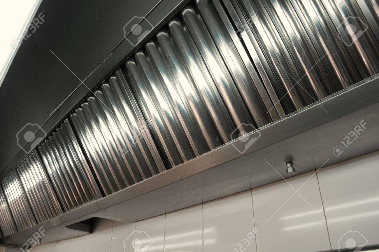 Auspuffanlagen dunstabzugshaube filter detail in einer