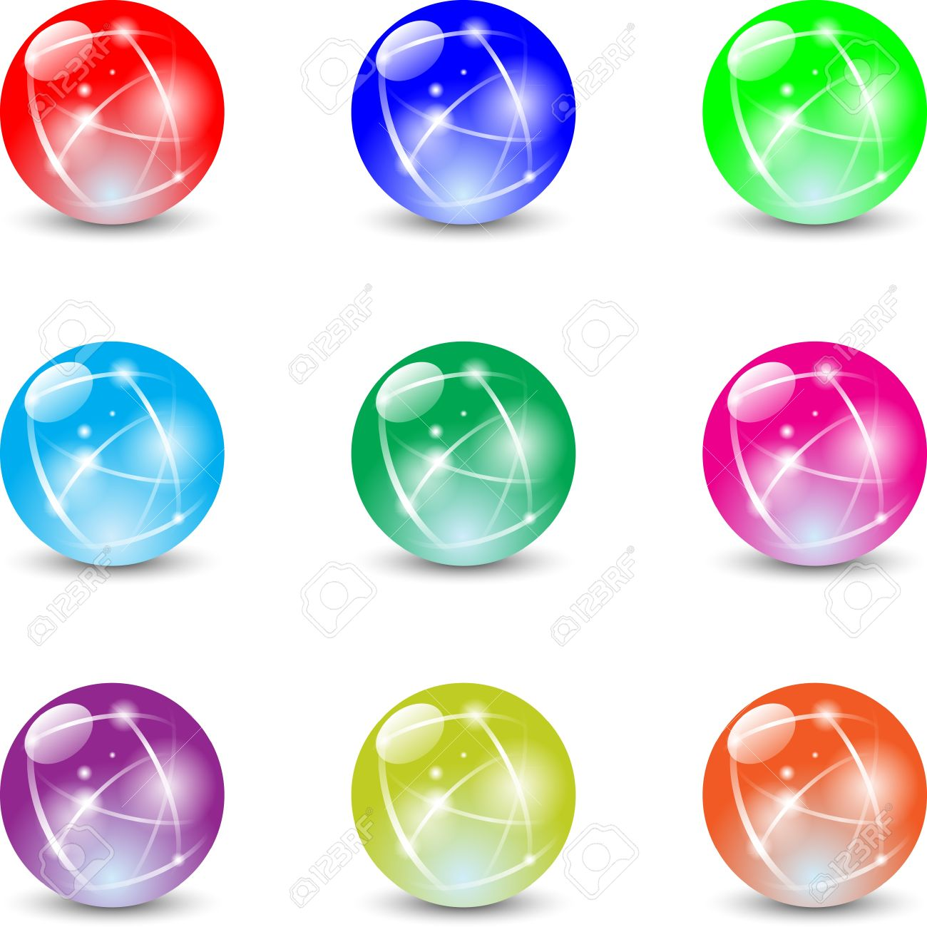 marbles Stock Vector - 12177613