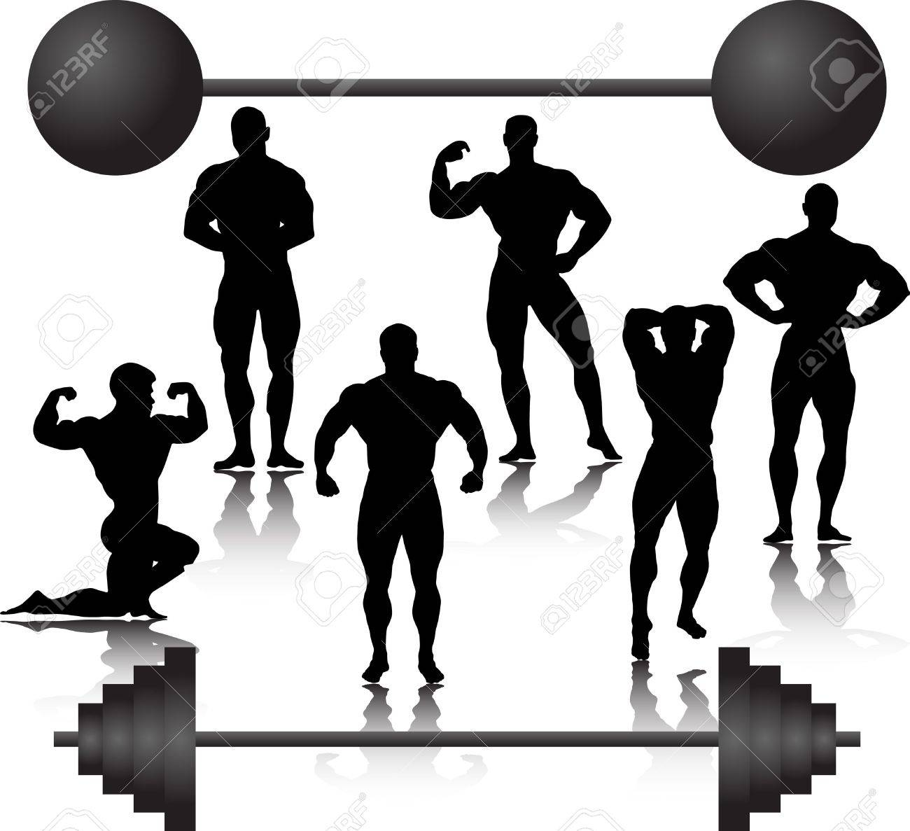 bodybuilder Stock Vector - 12799100