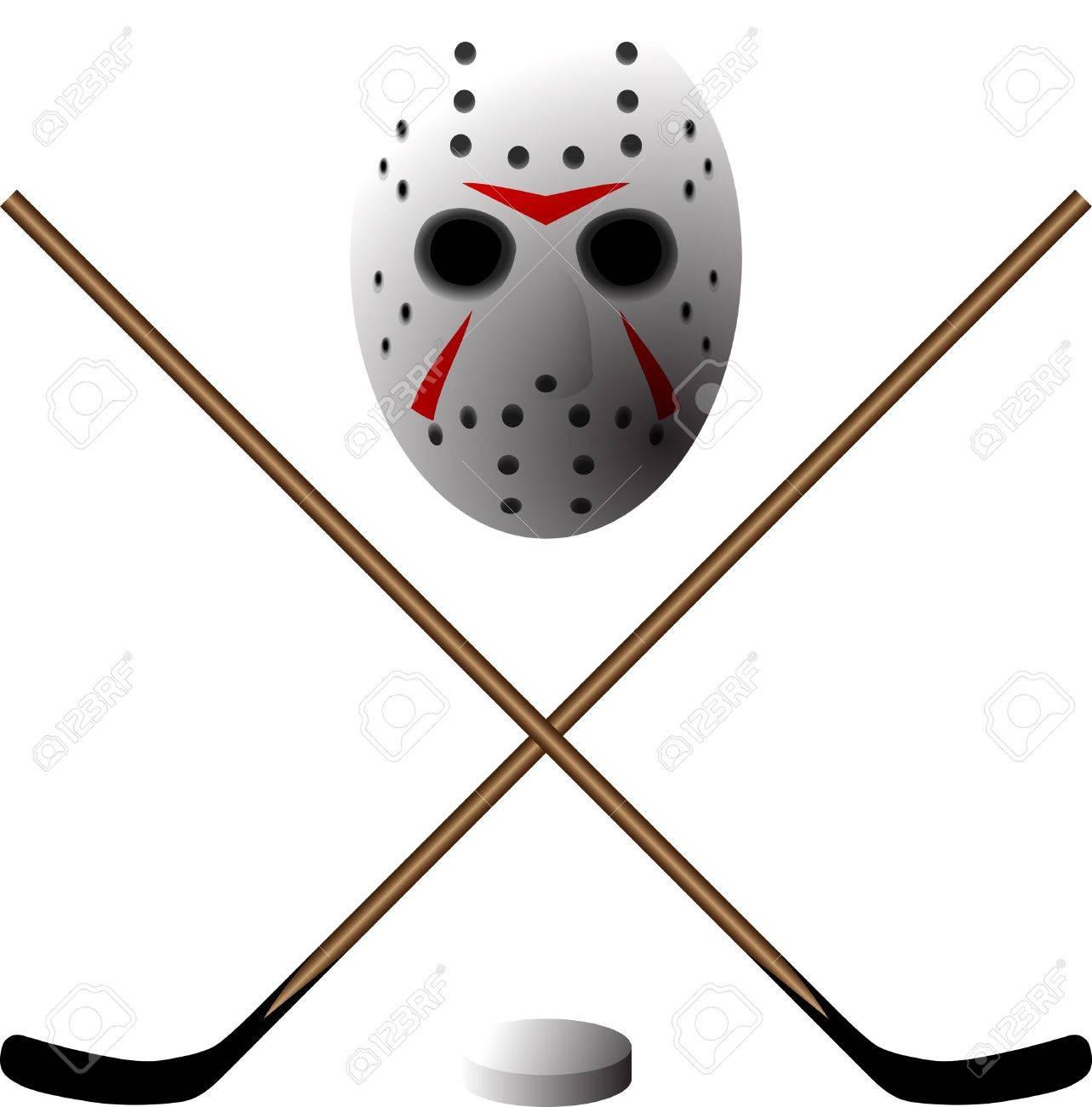 symbol of hockey Stock Vector - 14461720