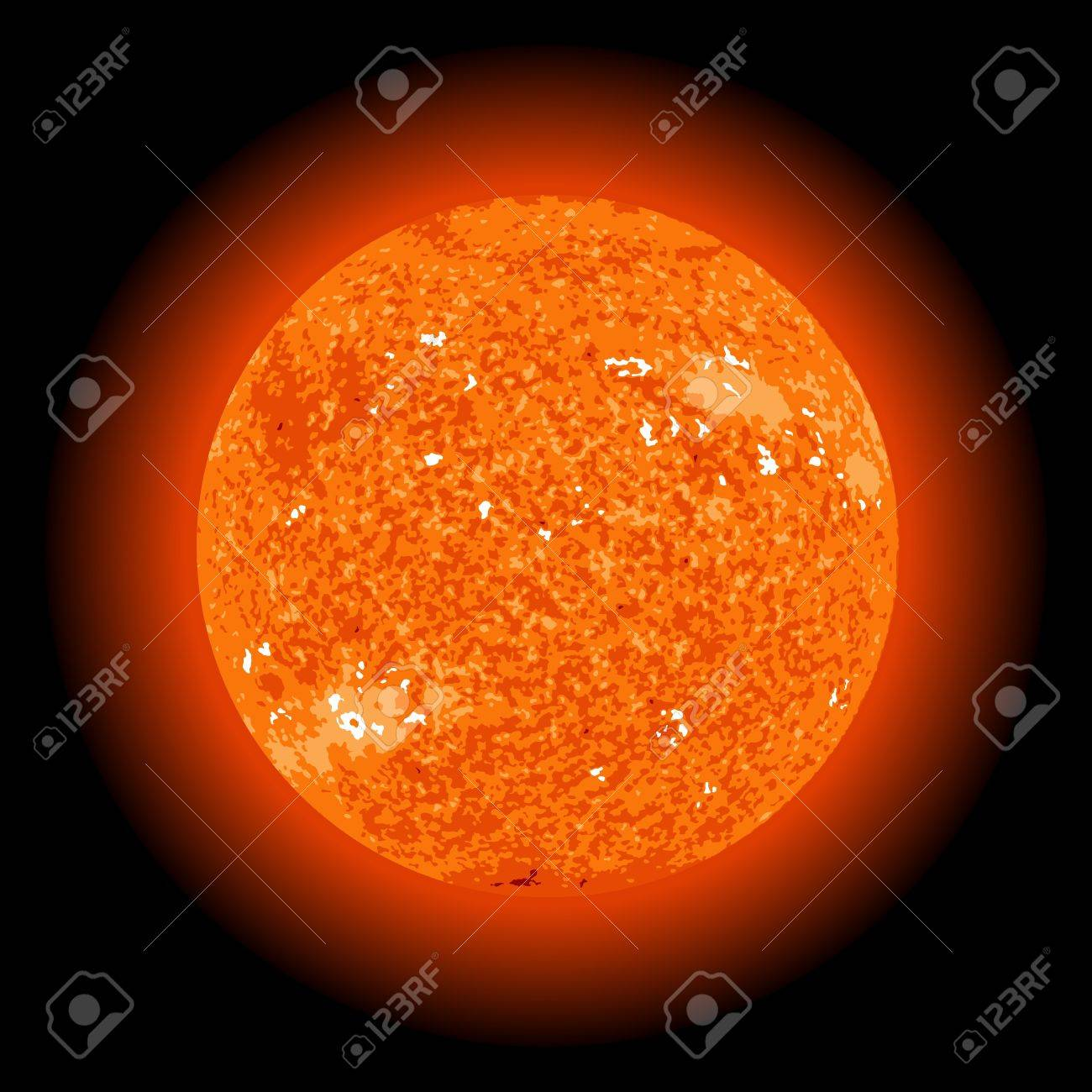 Sun from space Stock Vector - 14461721