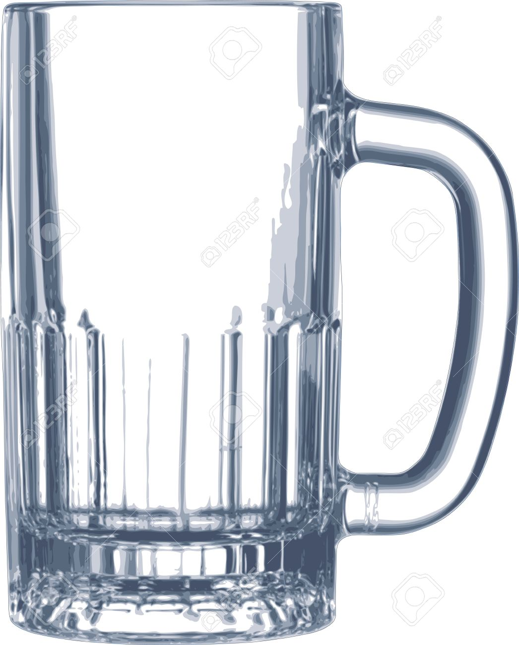 empty beer mug Stock Vector - 15954527