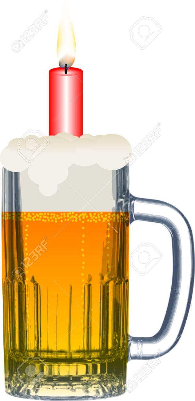 Imagenes de feliz cumpleanos con una cerveza