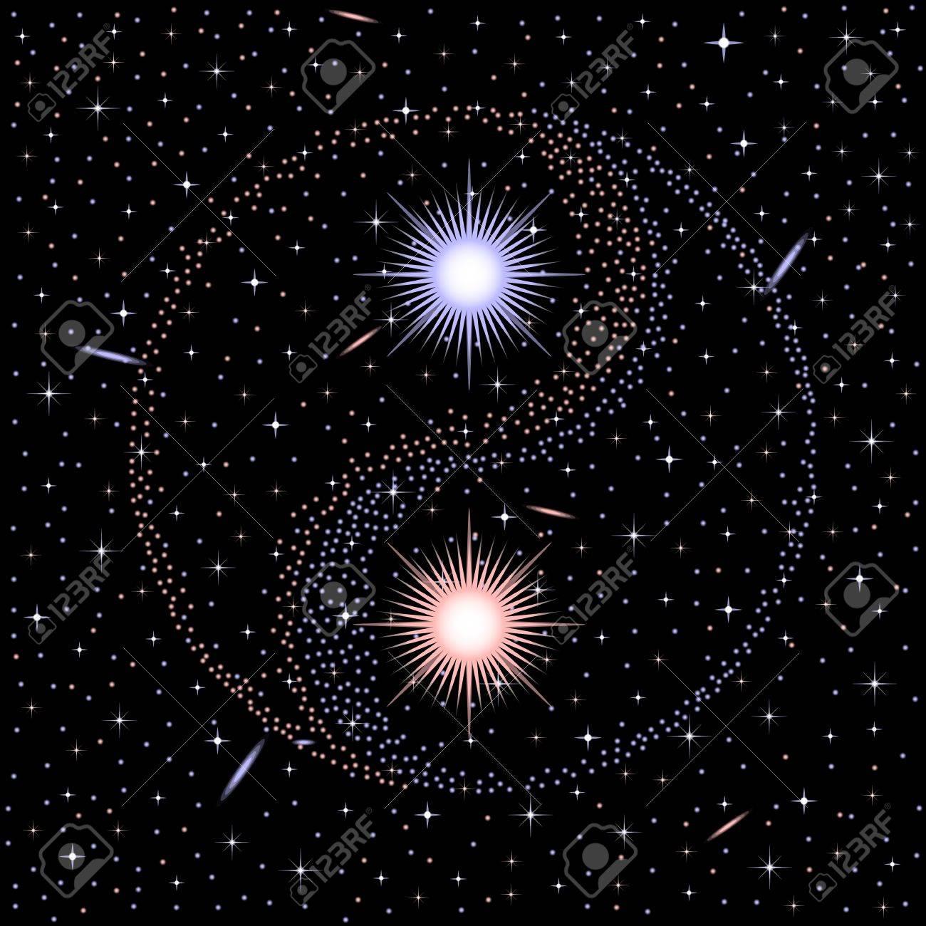 Star yin yang - 16385273