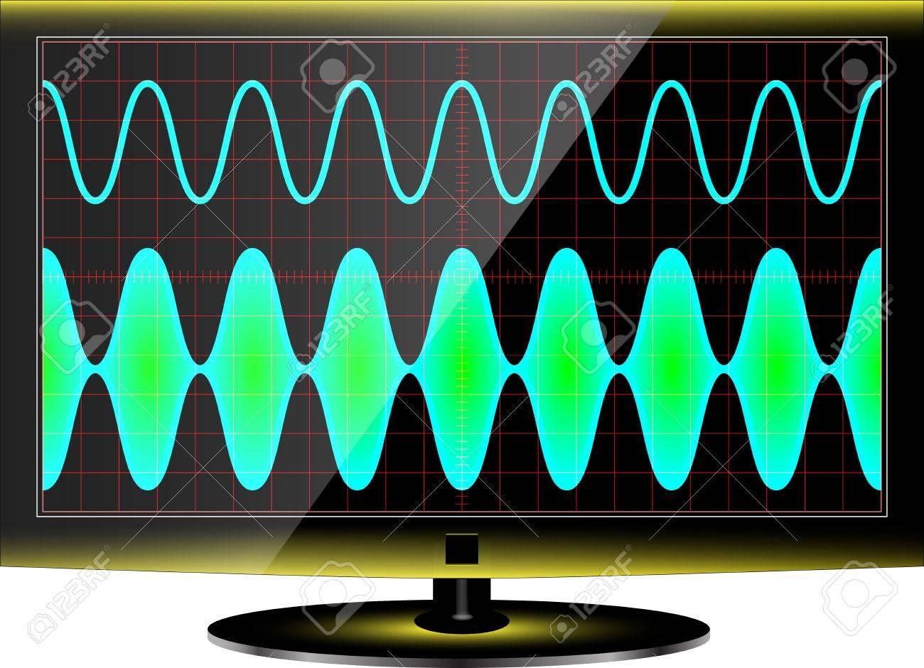modulation Stock Vector - 16984510