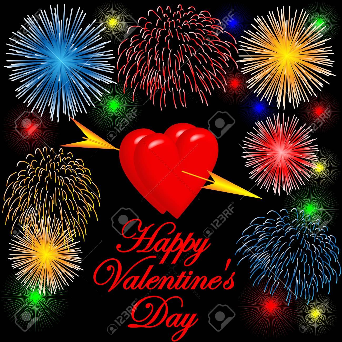 Happy Valentine Stock Vector - 17337724