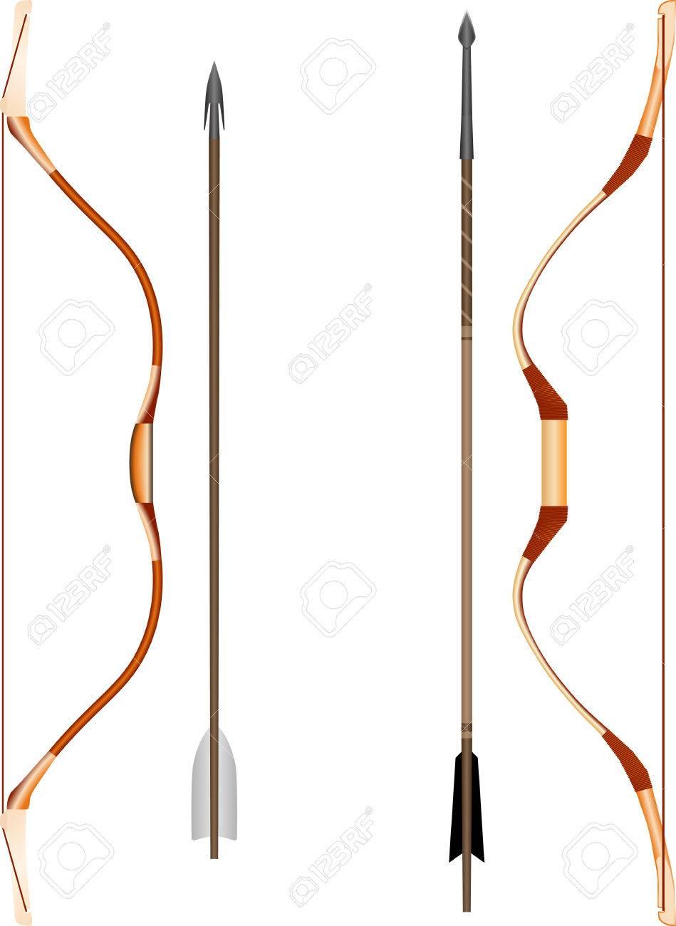 Как сделала лук и стрелы