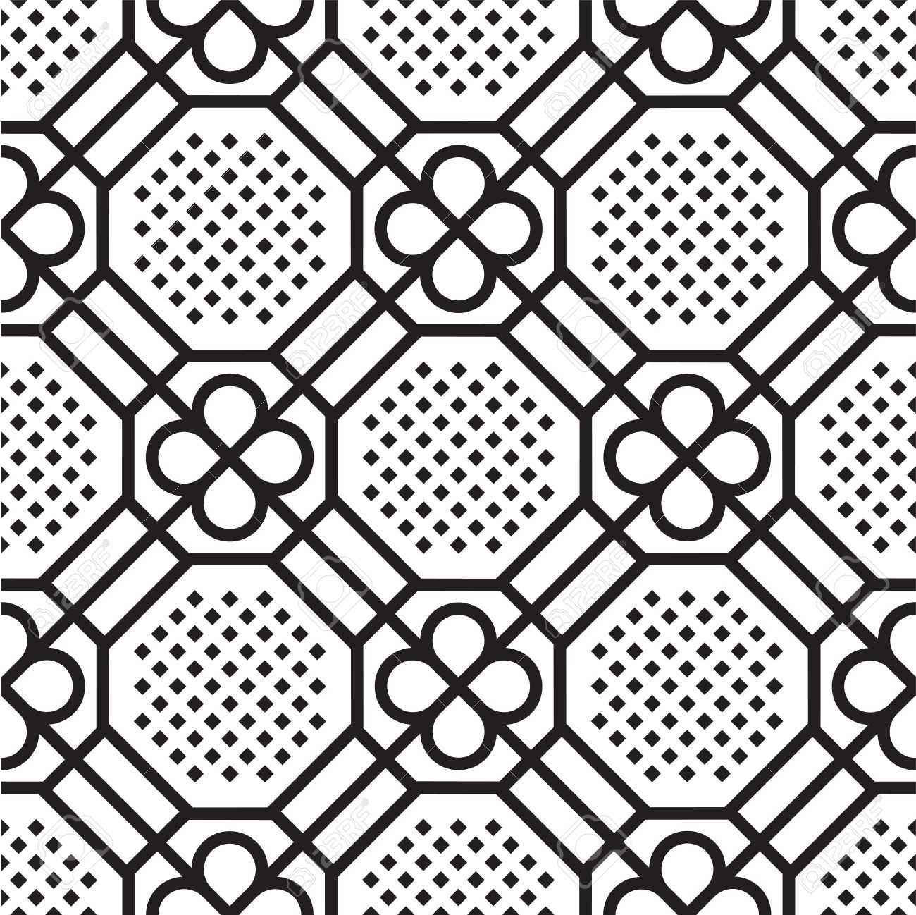 seamless pattern (vector) Stock Vector - 9222057