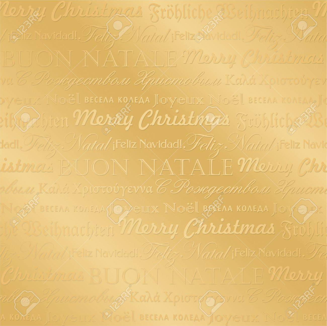 seamless multilingual christmas pattern (vector) Stock Vector - 11666946