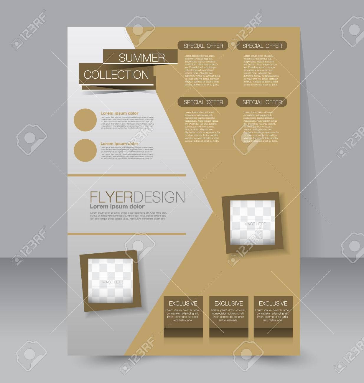 Poster design education - Editable A4 Poster For Design Education Presentation