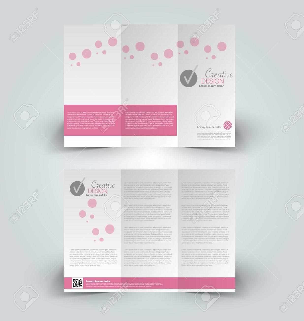 Broschüre Design-Vorlage. Zusammenfassung Hintergrund. Für ...