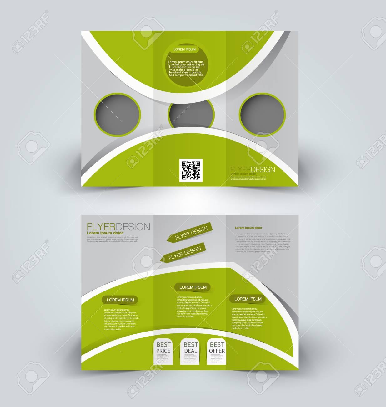 Folleto Maqueta Plantilla De Diseño Para Los Negocios, La Educación ...