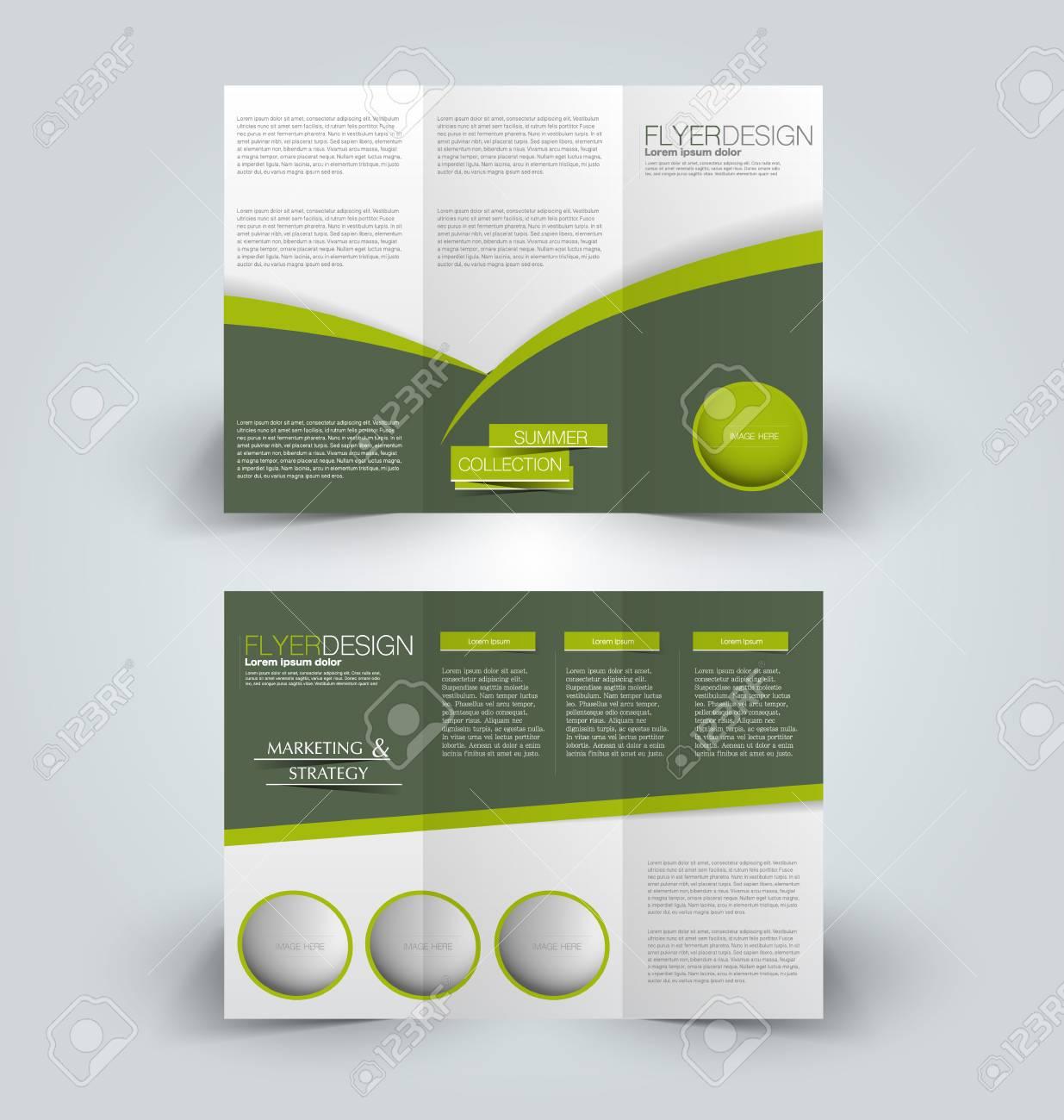 8807ad7db5 Folleto Maqueta Plantilla De Diseño Para Los Negocios