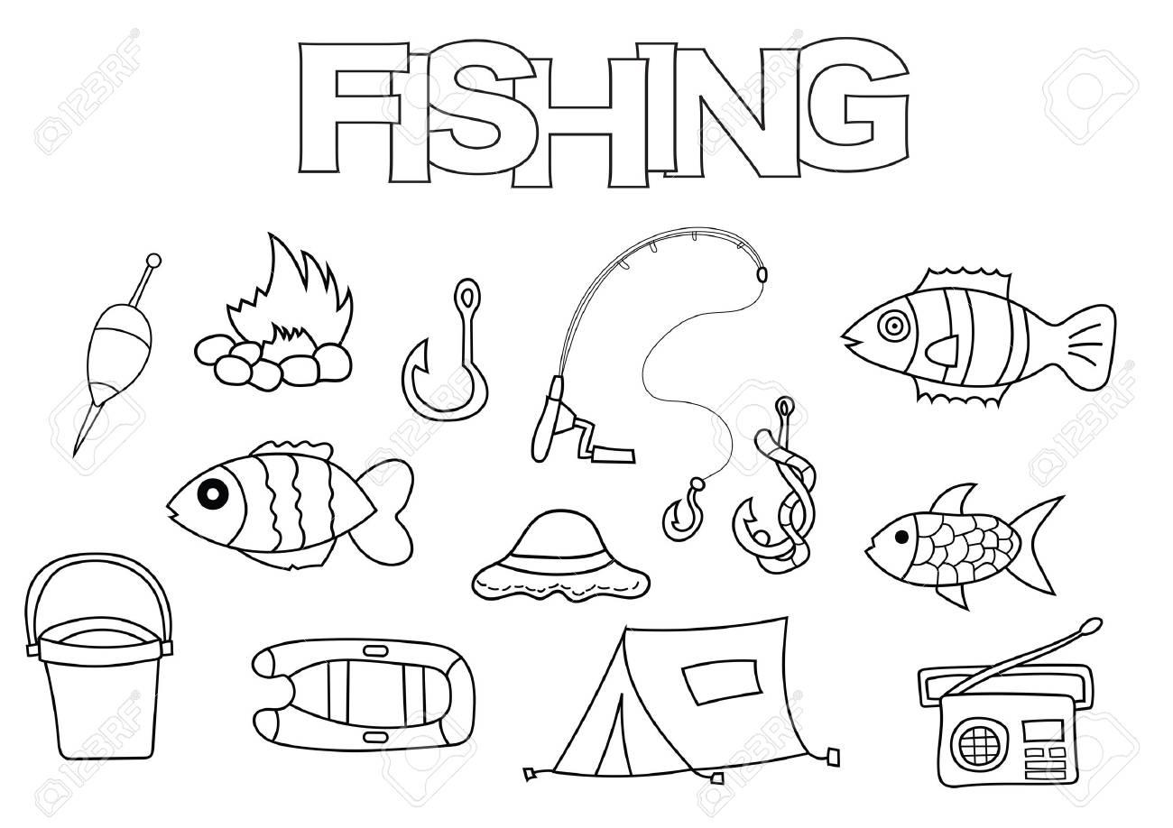 Bonito Pesca De La Lubina Para Colorear Galería - Dibujos Para ...