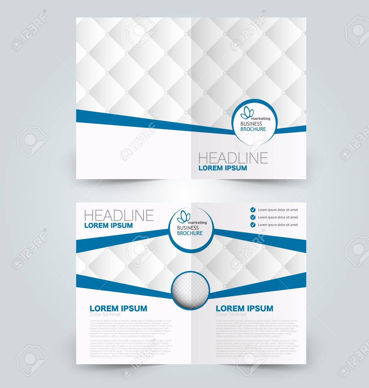 Fold brochure template flyer background design magazine cover fold brochure template flyer background design magazine cover business report advertisement pamphlet wajeb Gallery