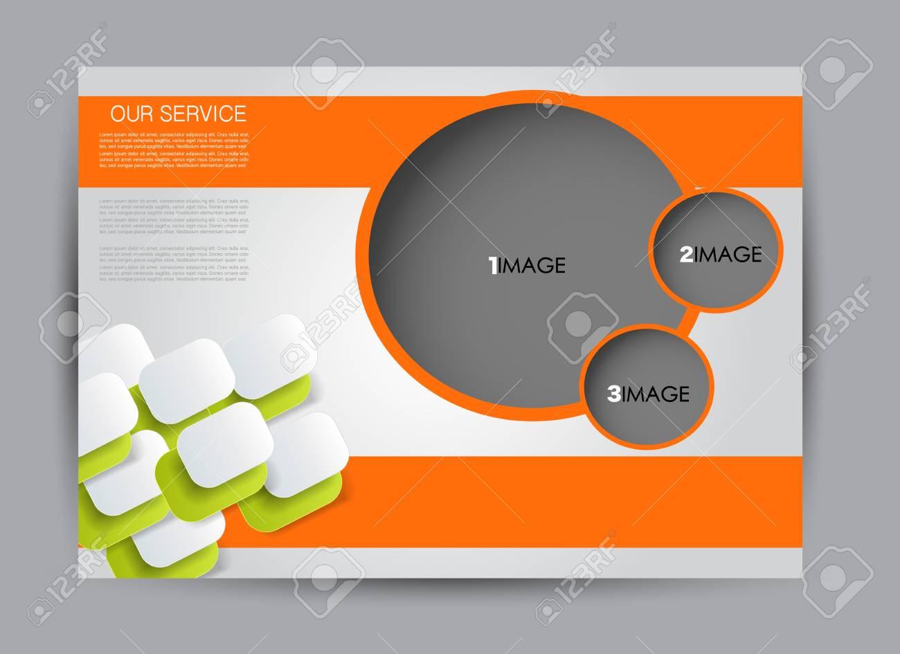 flyer brochure billboard template design landscape orientation for