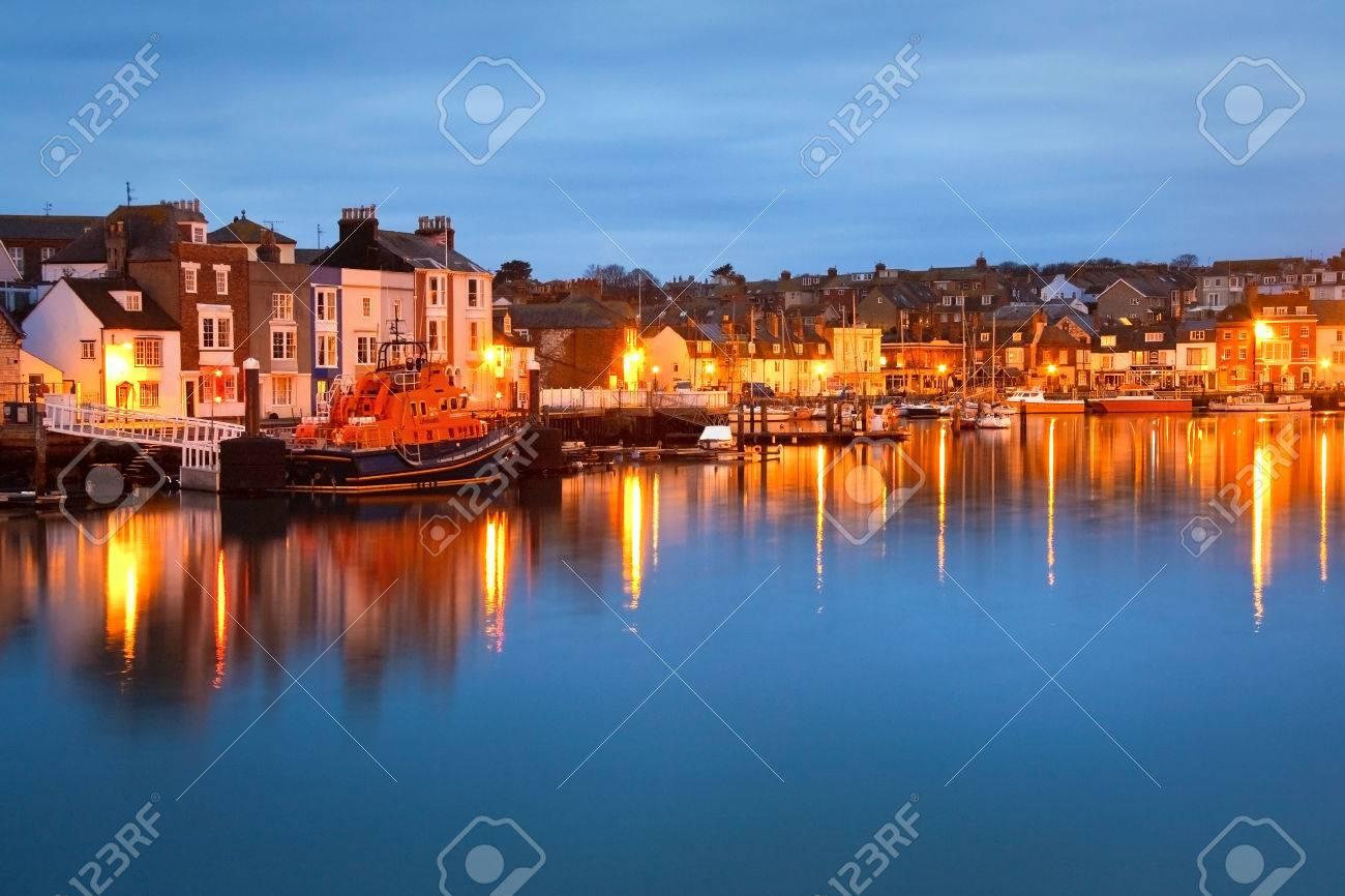 ドーセット、英国のウェイマス港...