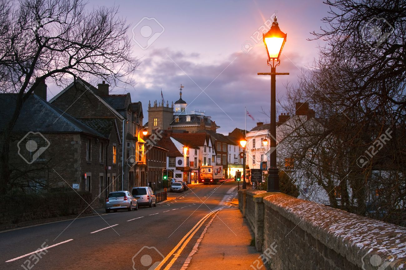 Abingdon Town Near Oxford City Uk Stock Photo Picture And