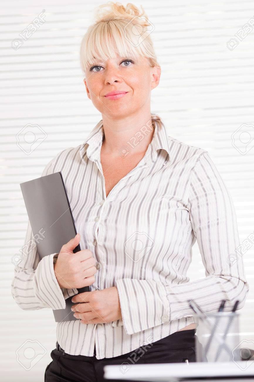 Sexy mature business women