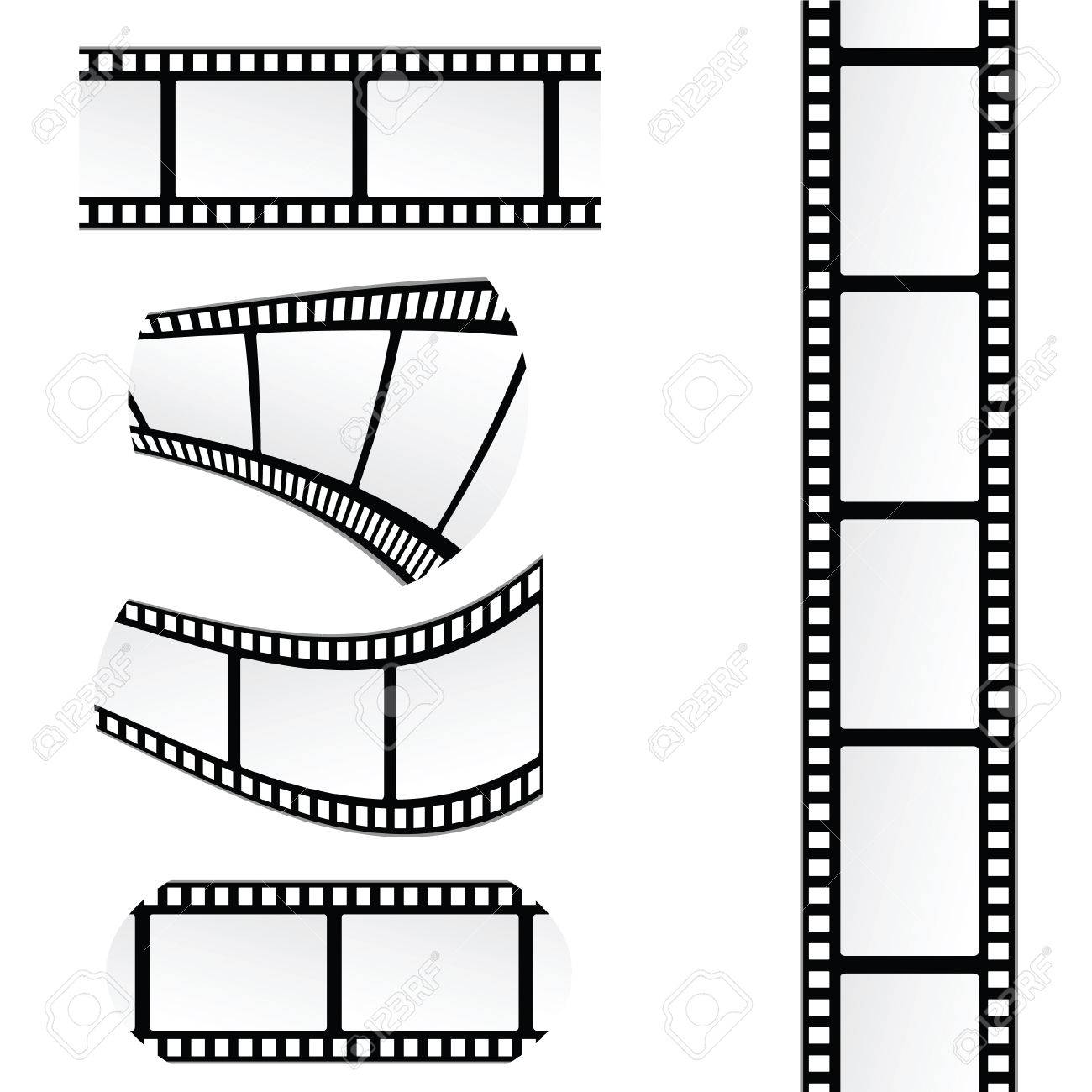 film tape roll vector illustration royalty free cliparts vectors