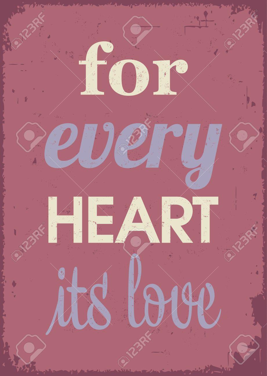 Affiche D Amour émotion Et Des Sentiments Citation D Amour