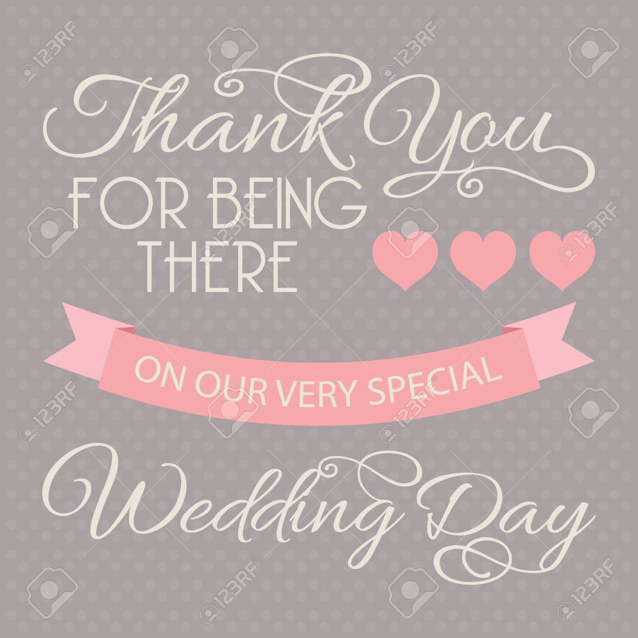 Wedding Thank You Card Template Wedding Design Elements Royalty – Thank You Cards Wedding Template