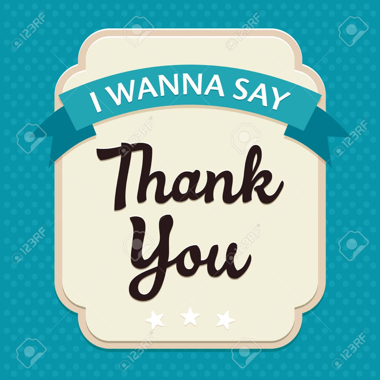 template frame design for thank you card royalty free cliparts