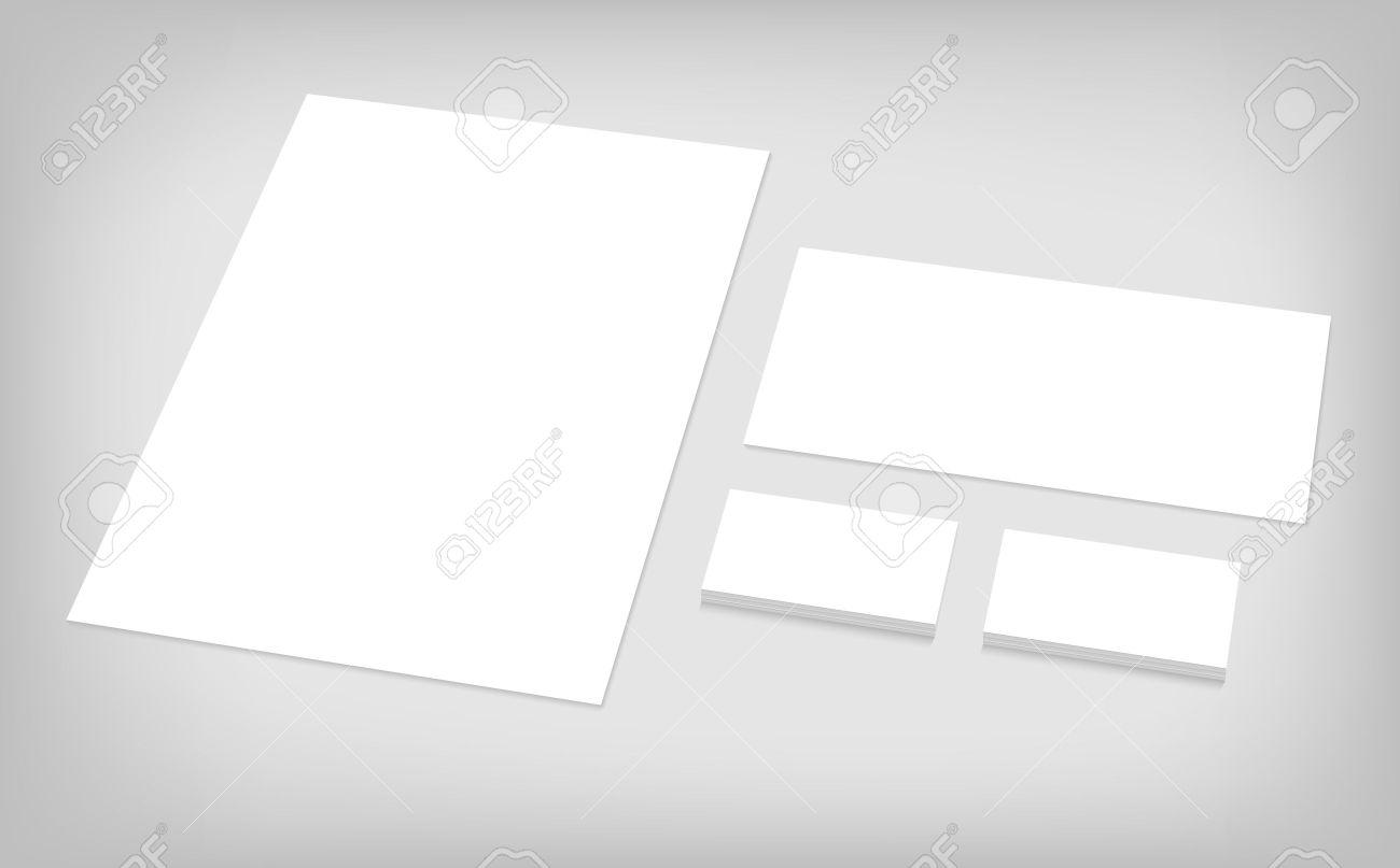Business Cards, Letterhead, Envelope. Stationary Branding Template ...