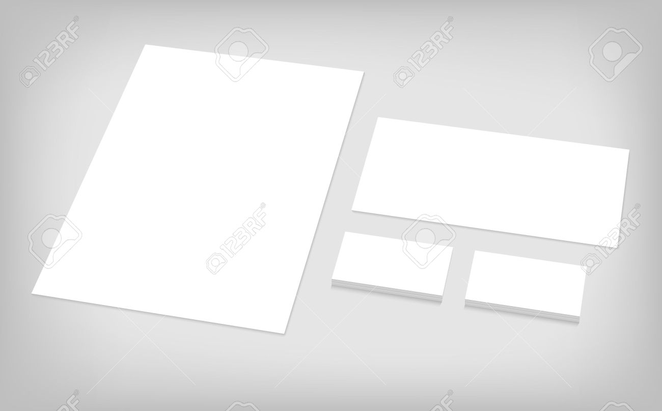 business cards letterhead envelope stationary branding template