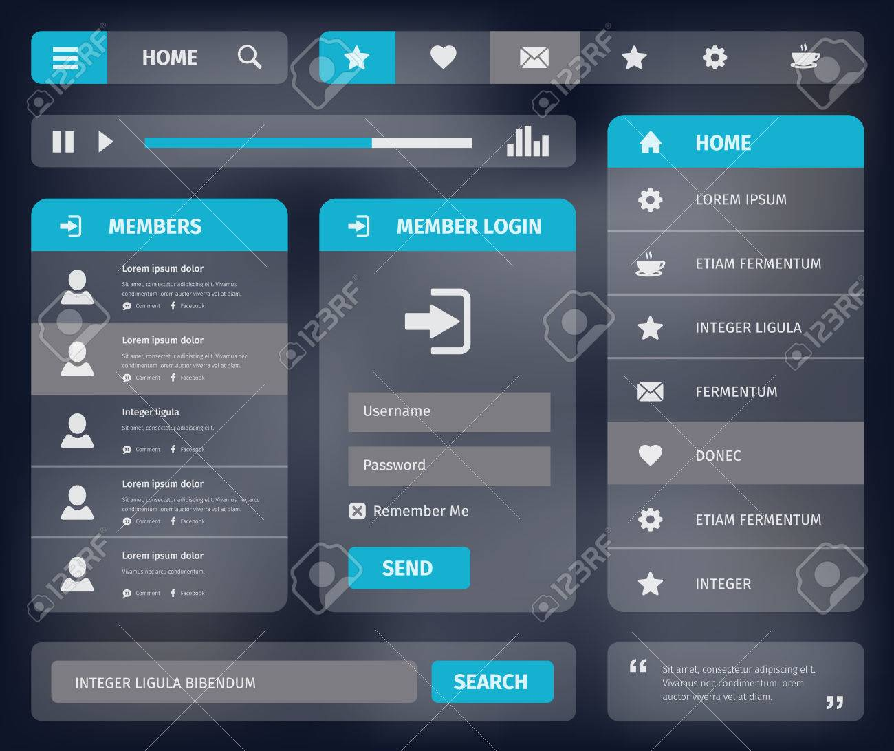 Interface Template. futuristic hud interface intro after effects ...