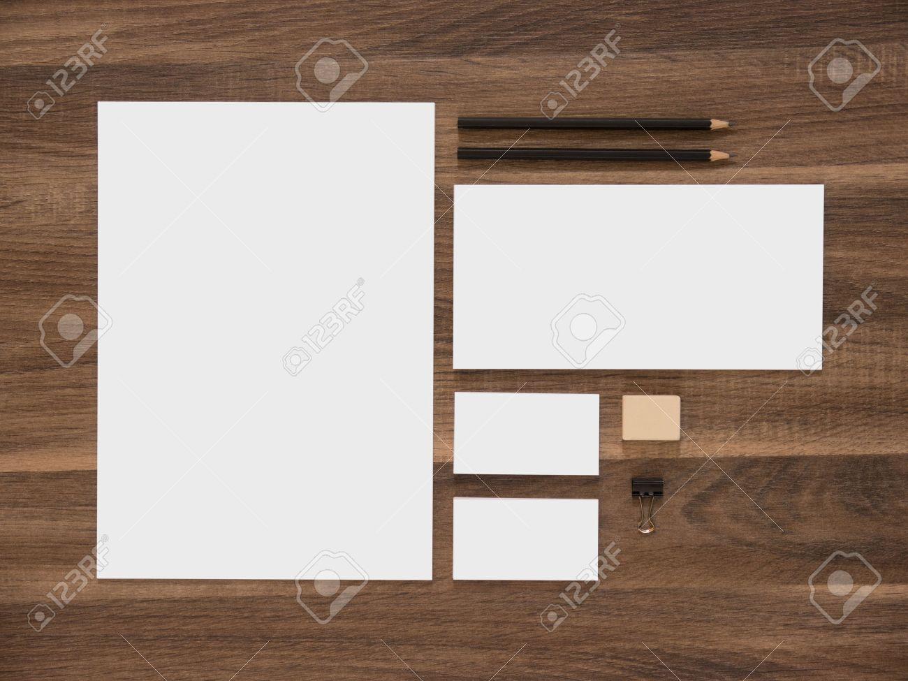 Branding mockup letterhead envelope and blank business cards letterhead envelope and blank business cards simple corporate design presentation template reheart Gallery