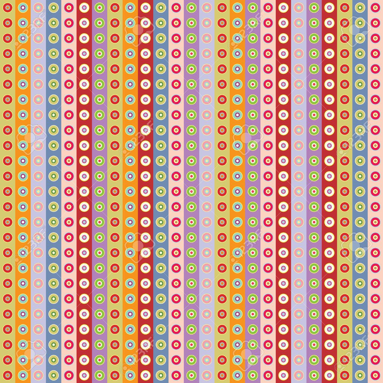 seamless pastel wallpaper vector illustration Stock Vector - 3337449