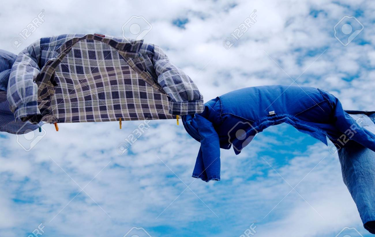 Drying laundry Stock Photo - 4677960