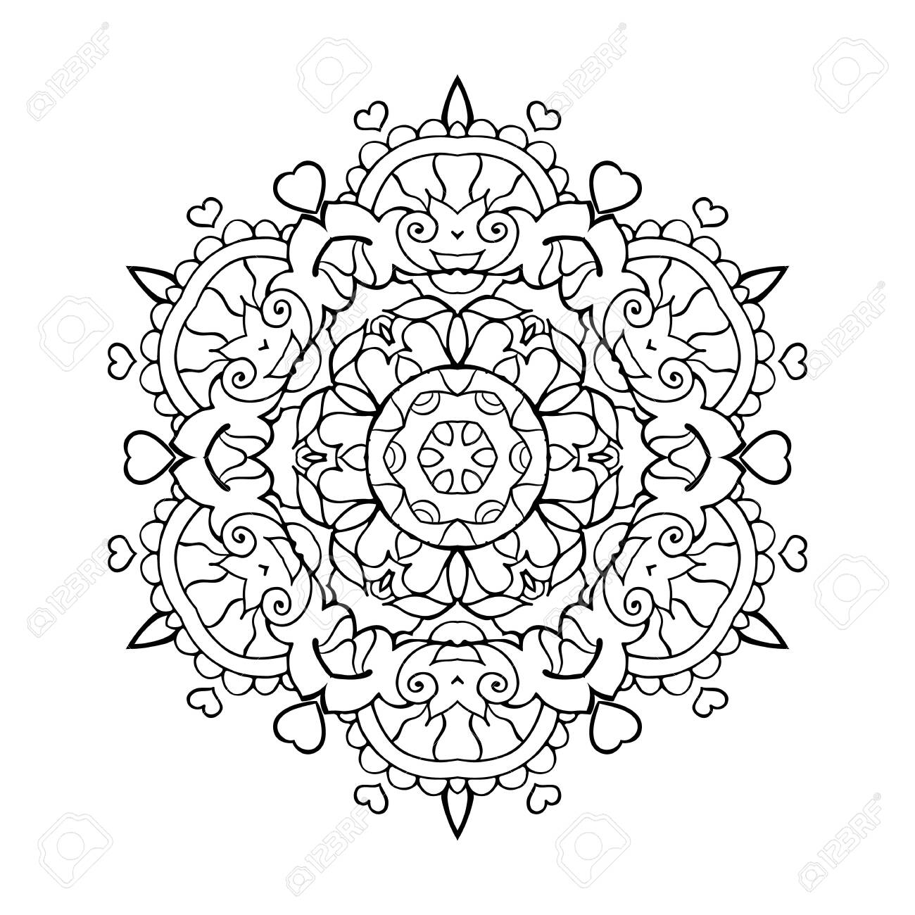 Free coloring pages for you to print | 1300x1300