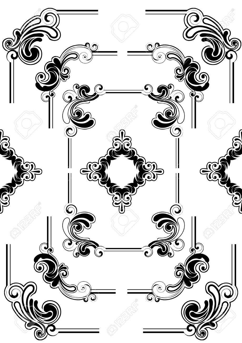 Abstract frame design Stock Vector - 12205716