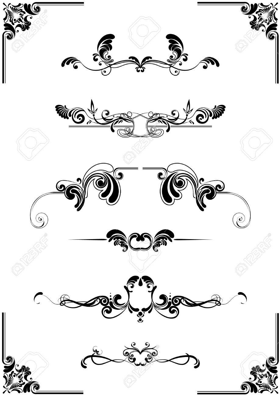 abstract floral ornament Stock Vector - 12205747