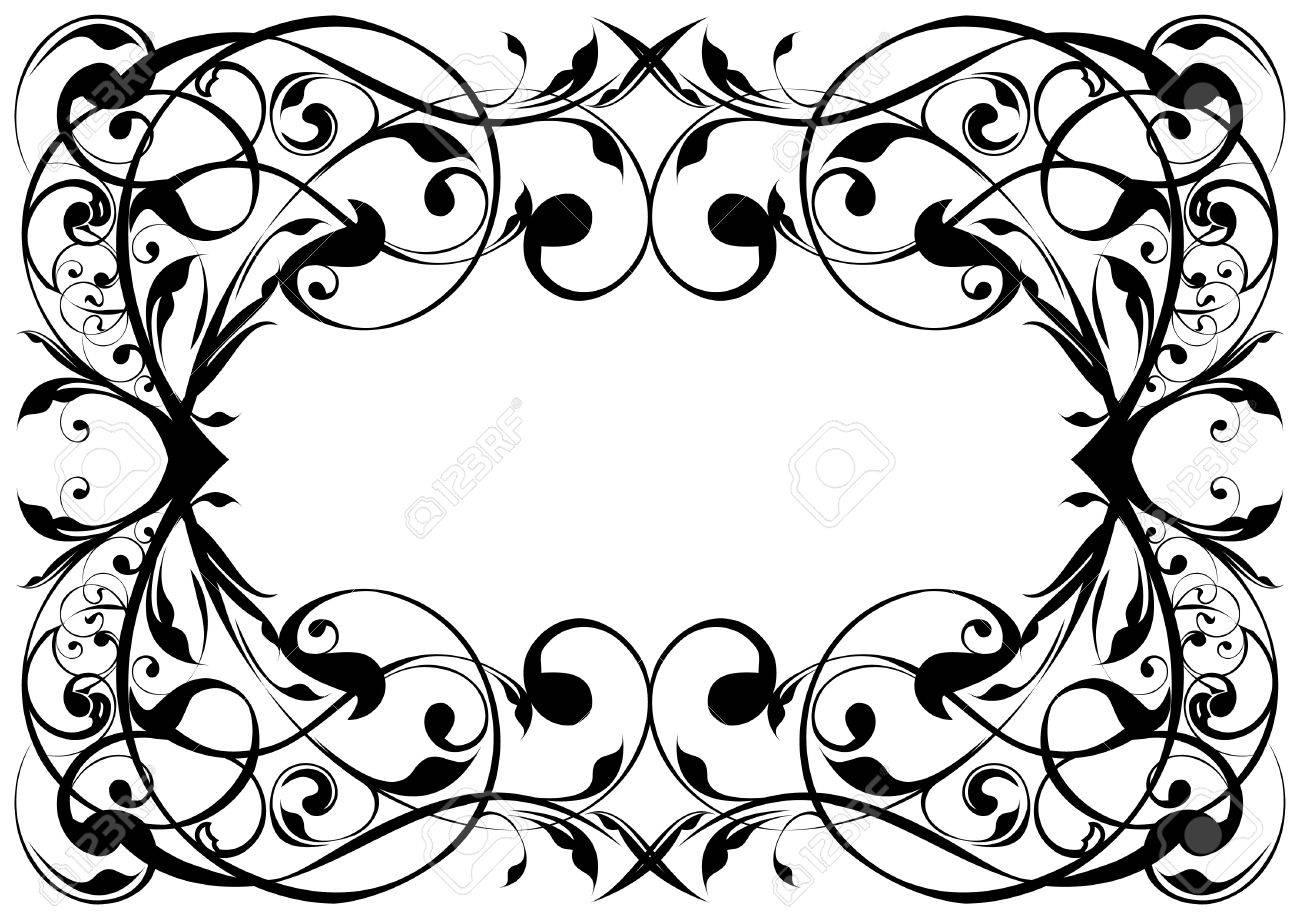 Floral frame Stock Vector - 12205704