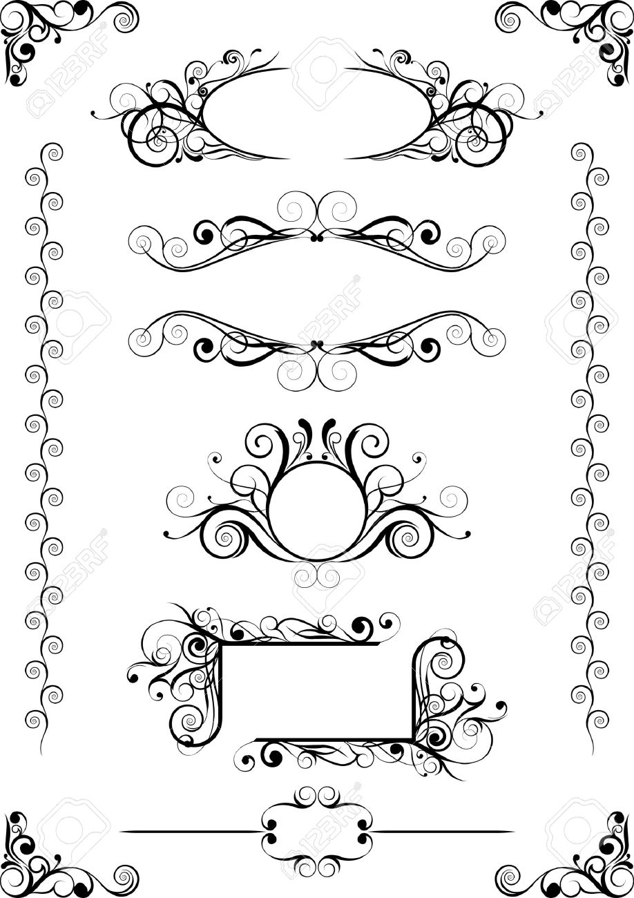 Frames Design Royalty Free Cliparts, Vectors, And Stock Illustration ...